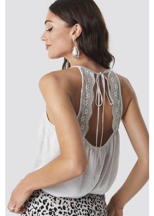 Rut & Circle Open Back Lace Singlet