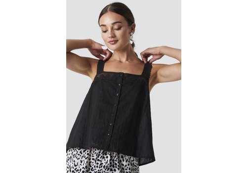 Rut & Circle Lace Strap Top