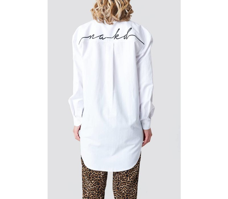 Oversized Embroidery Shirt