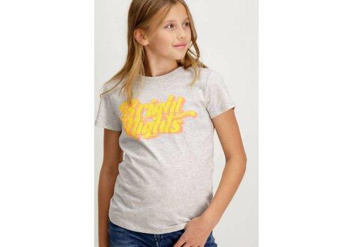 Garcia T-shirt met gekleurde tekstopdruk