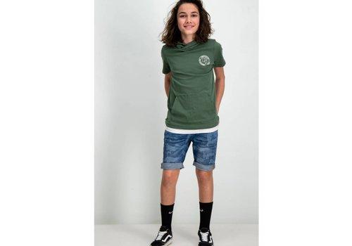 Garcia t-shirt met capuchon