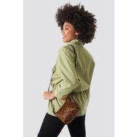 Button Up Pouch Anorak