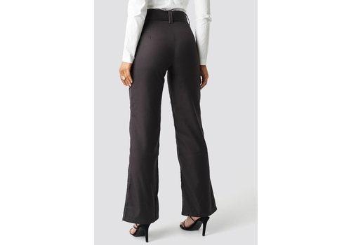 NA-KD Highwaist Flared Pants
