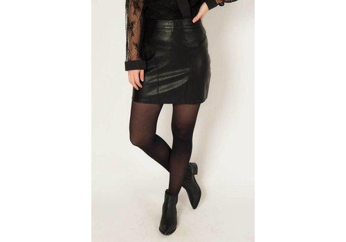 Things I Like Things I Love TilTil Lynn PU Leather Skirt