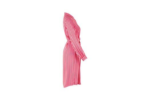 Saint Tropez WOVEN DRESS ON KNEE LENGTH