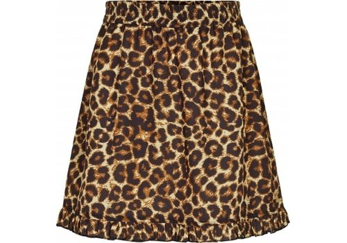 Cost.Bart FATMA - SKIRT WITH LEOPARD PRINT