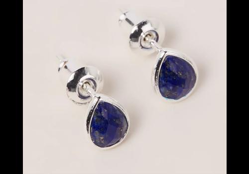 Orelia Orelia London silver Teardrop Stud Earrings