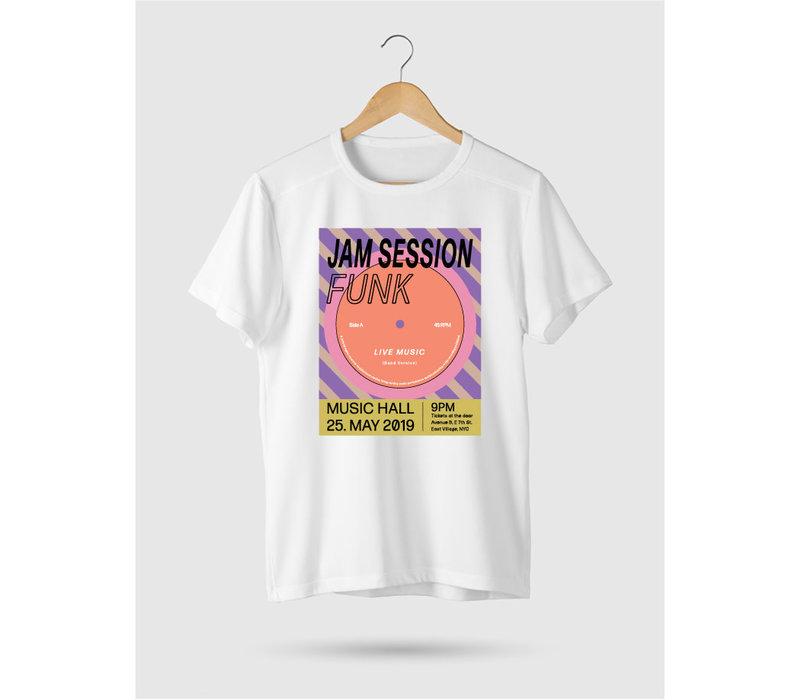Funk Roll Hem T-shirt