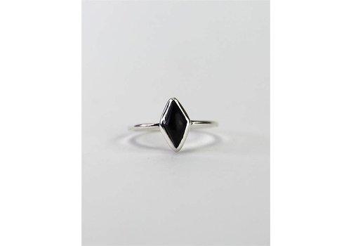 Josephina Jewelry Silver Elegance - Black Onyx