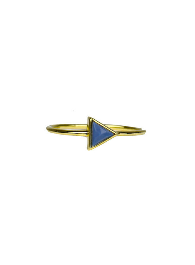 Blue Opal Triangle