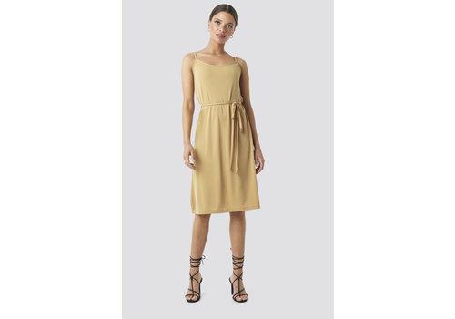 NA-KD Wrap Detail Strap Dress