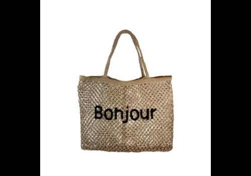 Black Colour VENICE beach bag BONJOUR