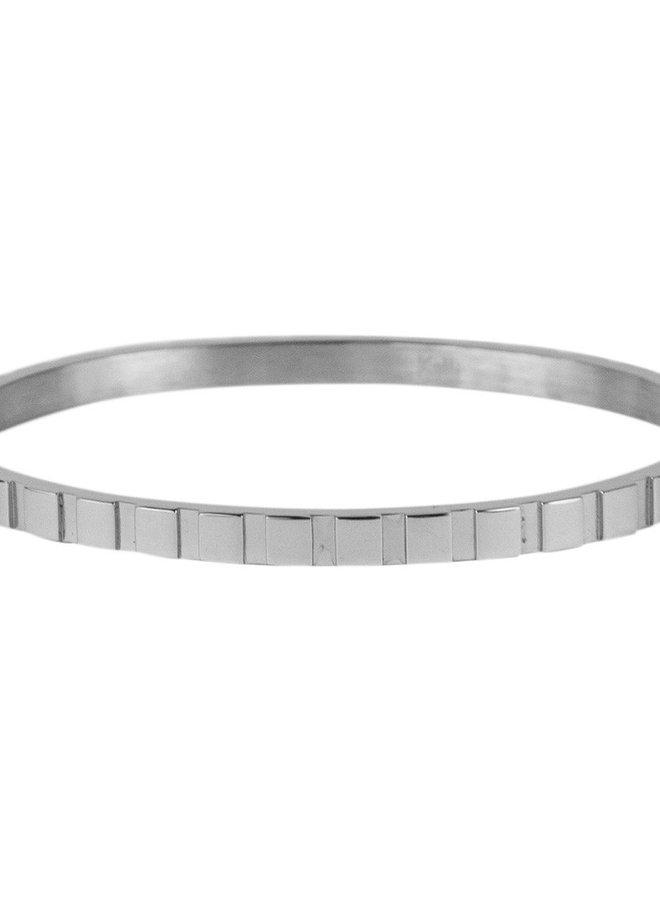 2145 Blokjes - zilver