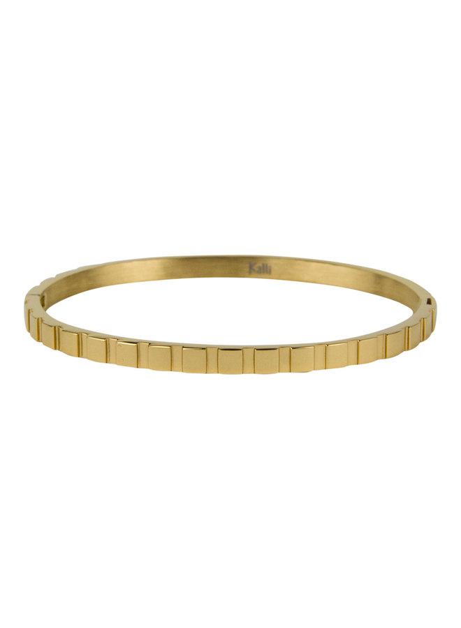 2145 Blokjes - goud