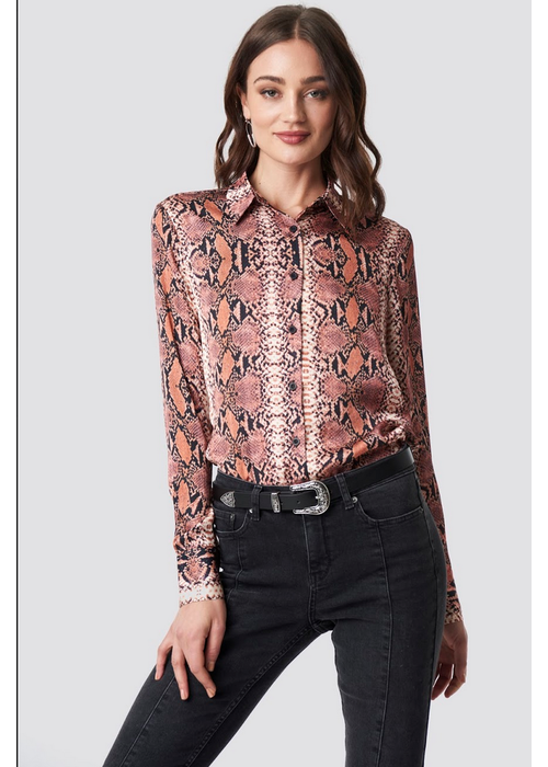 Rut & Circle Josefin Snake Shirt