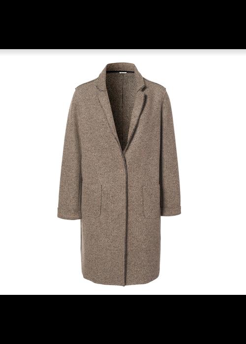 NUKUS Merel-Coat Visgraat