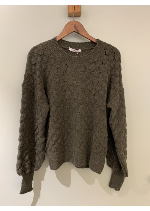 Bloggerfields only An'ge pullover  - Kaki