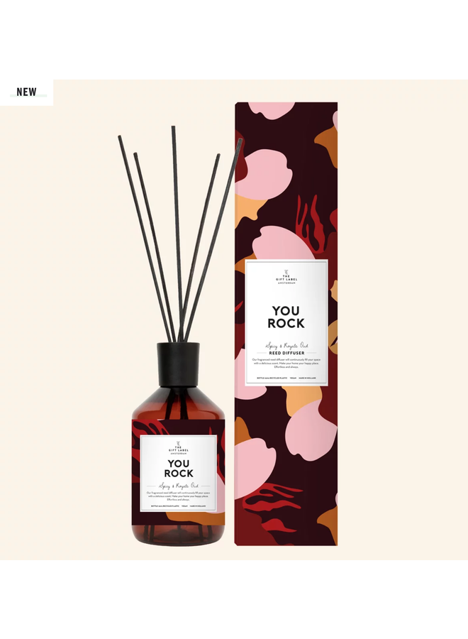 Reed diffuser - You rock - Spicy and royal Oud