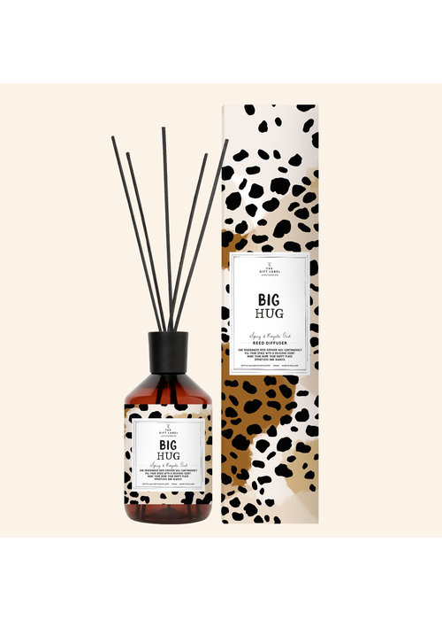 The Gift Label Reed diffuser - Big Hug - Spicy and royal Oudh