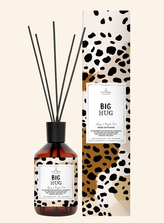 Geurstokjes - Big hug - Spicy and royal Oudh