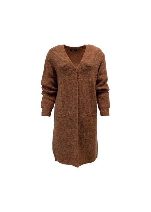 Rebelz Collection Vest Floortje - bruin - one size