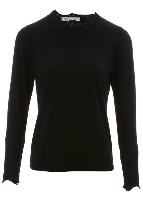 NUKUS Alba-Tshirt LS Uni Collace