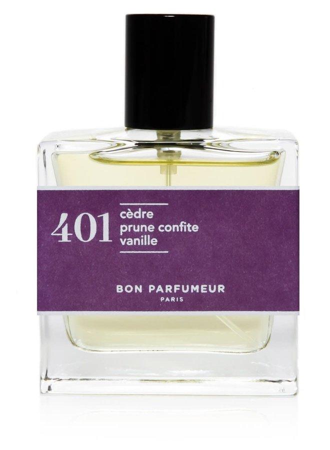 401 cedar/candied plum/vanilla