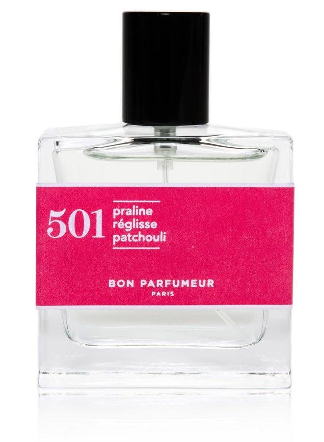 501 praline/licorice/patchouli