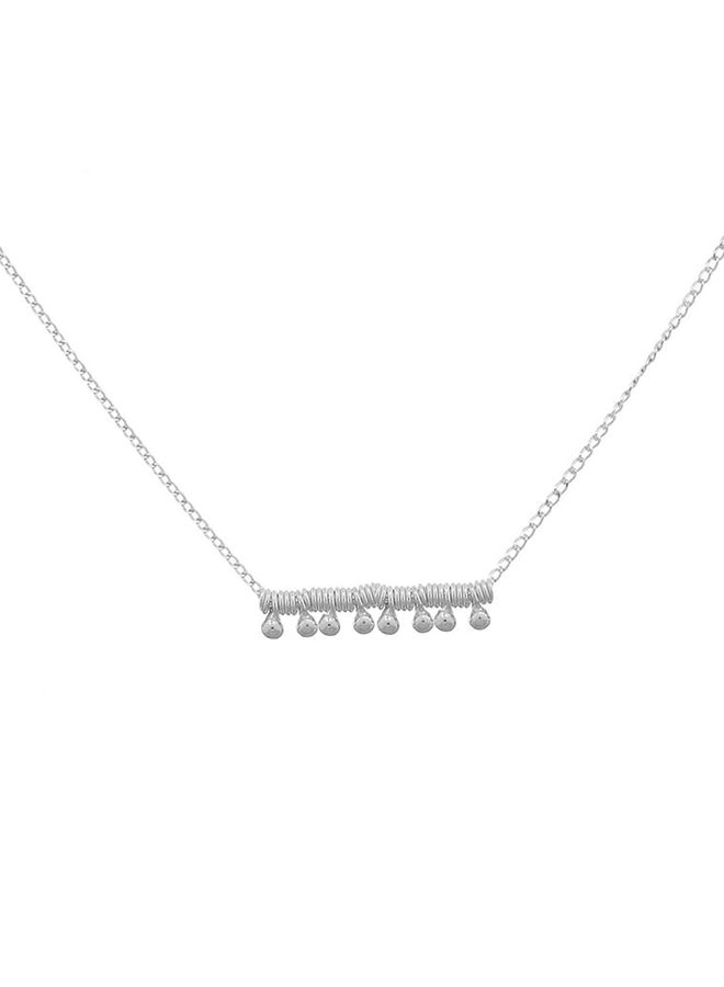 Ketting zilver – twiddle