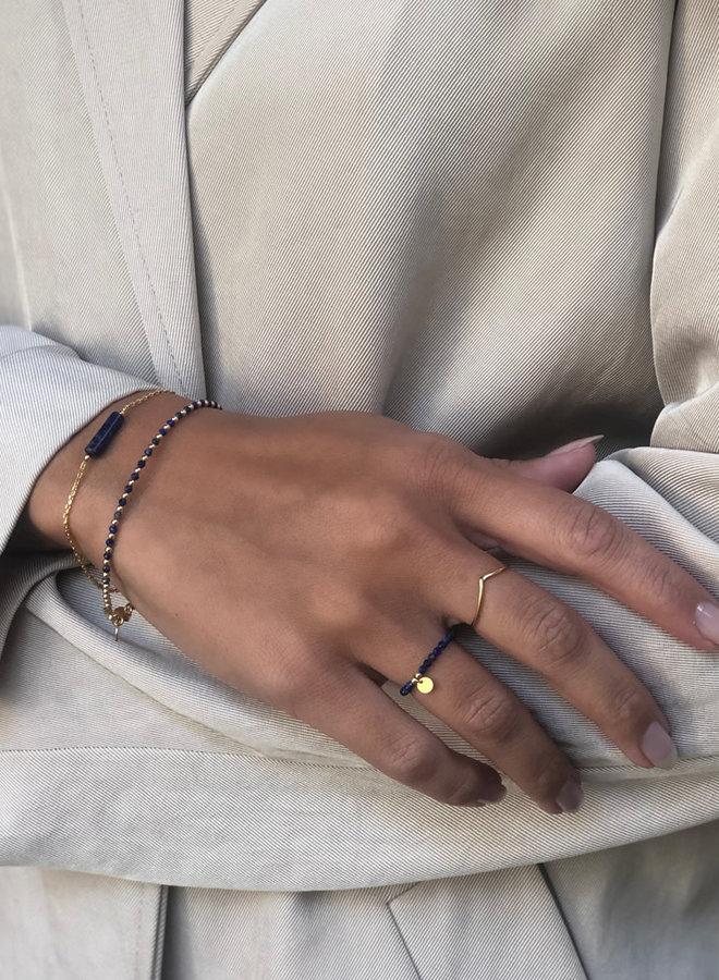 Ring zilver – V shape