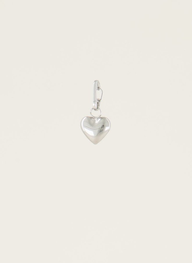 Moments charm heart Zilver ONESIZE