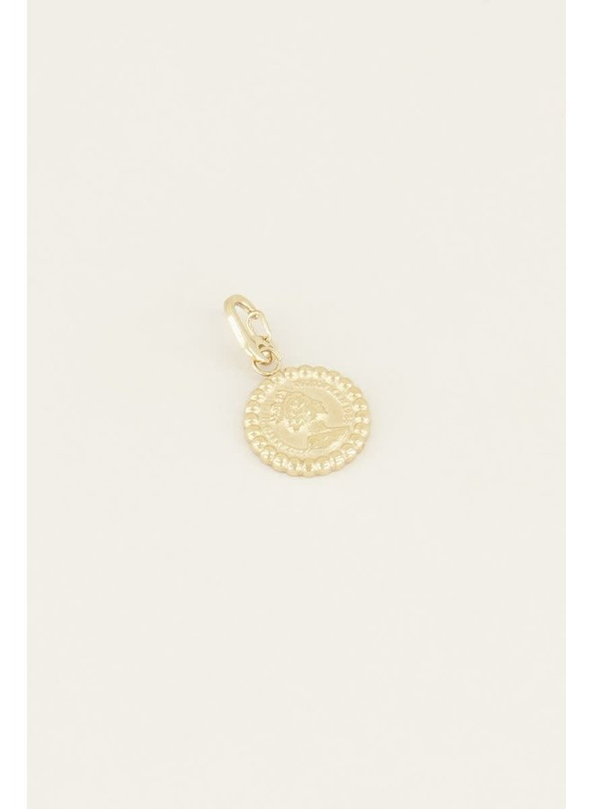 Moments charm coin Goud ONESIZE