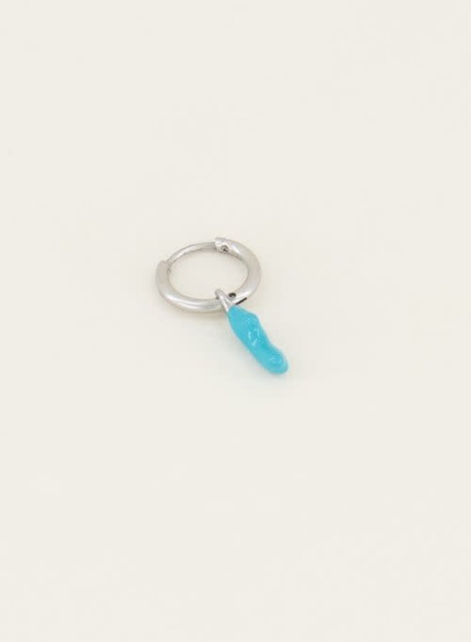 Moments one piece blue coral Zilver ONESIZE