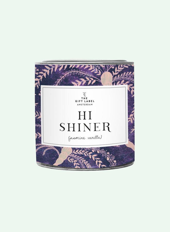 Big candle tin - Hi shiner - Jasmine Vanilla