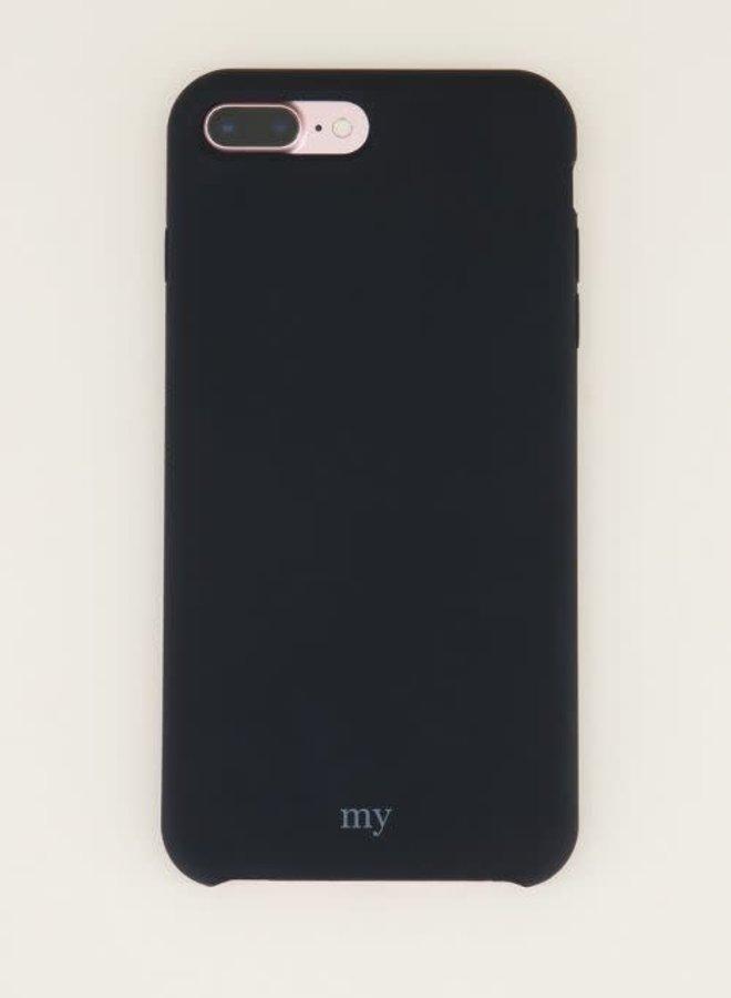 Siliconen telefoonhoesje  Zwart IPHONE XS MAX