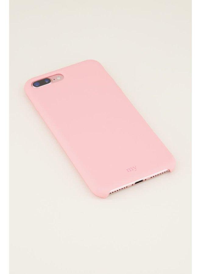Siliconen telefoonhoesje  Roze IPHONE11