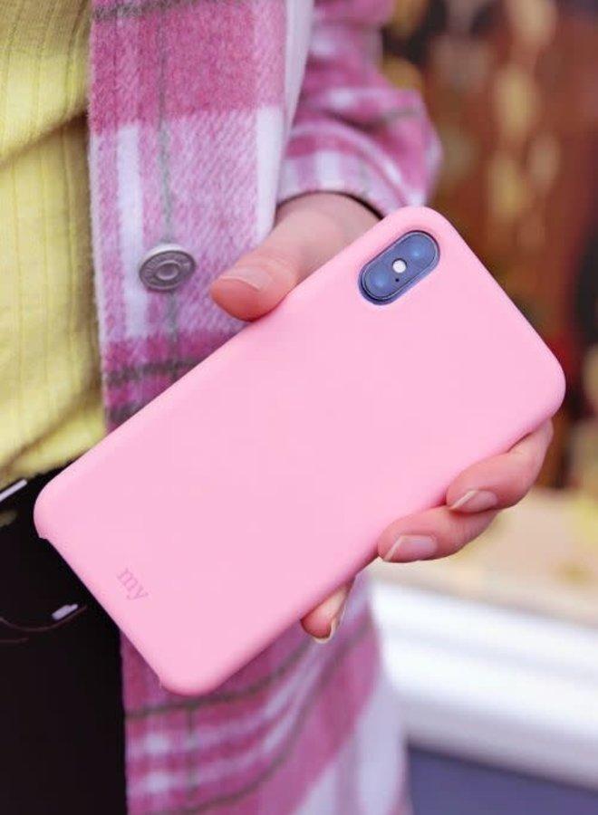 Siliconen telefoonhoesje  Roze IPHONE XS MAX