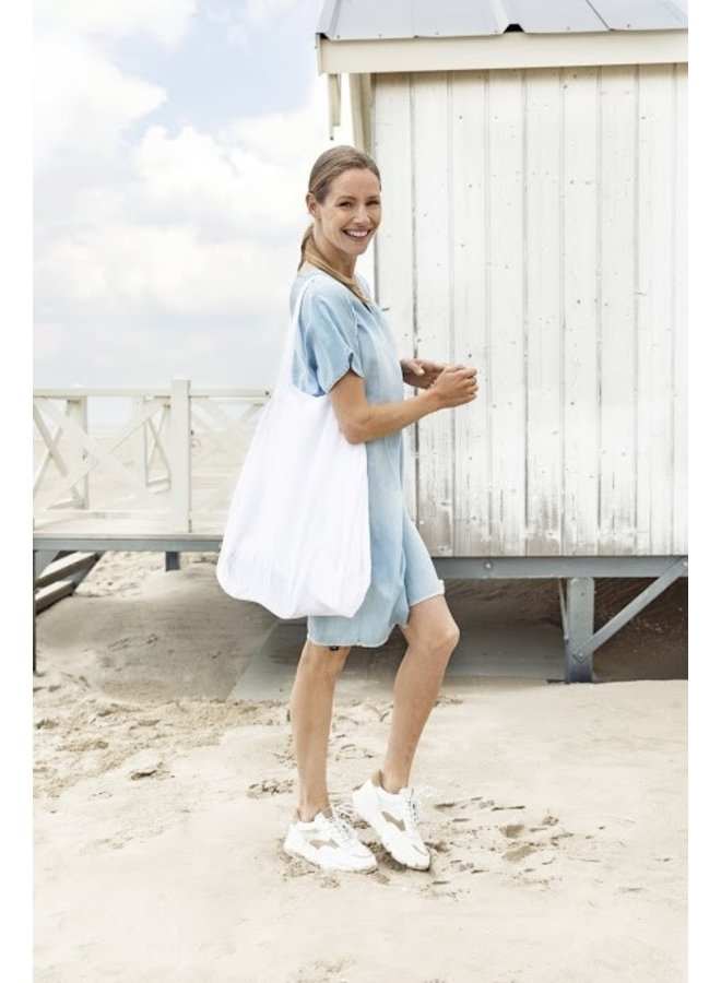 Erica-Dress S.Sleeve Denim