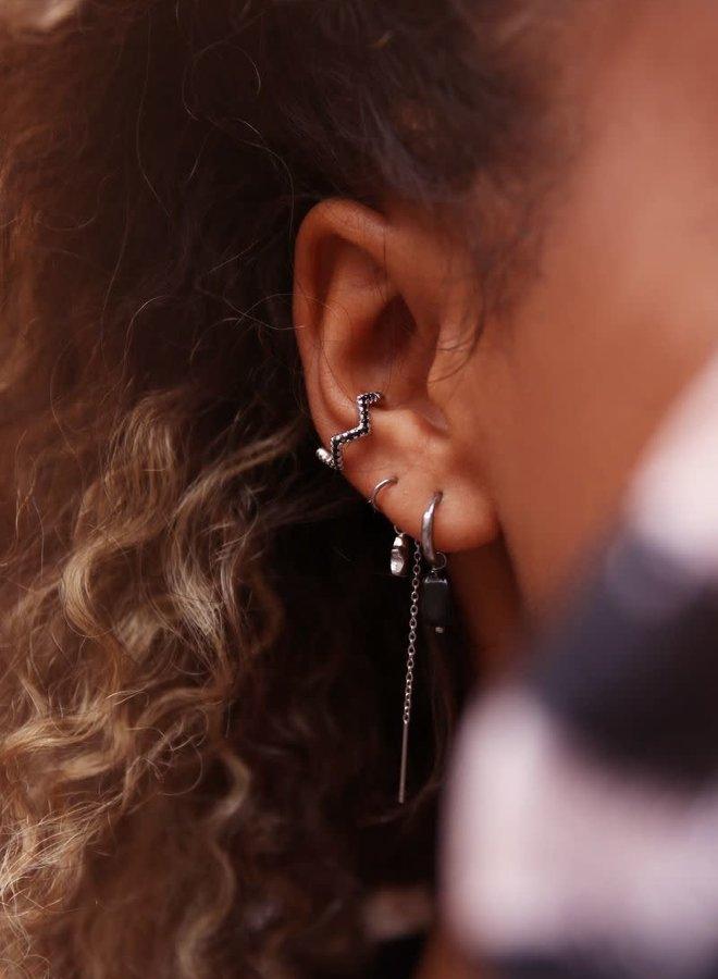 Ear cuff dubbele ring