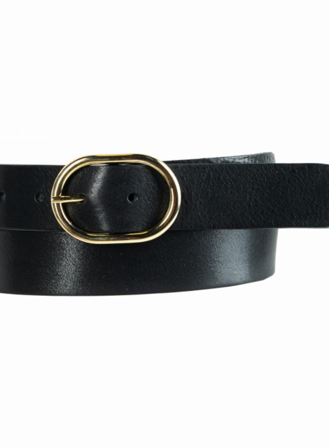 Belt 3.5 cm - leer
