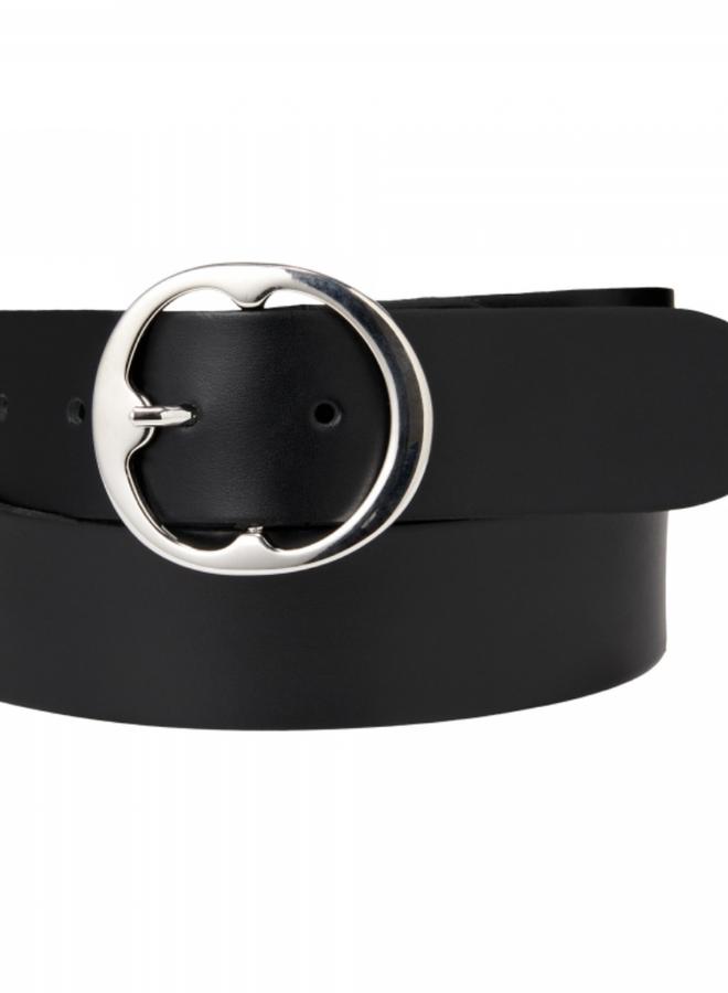 Belt 4 cm - leer