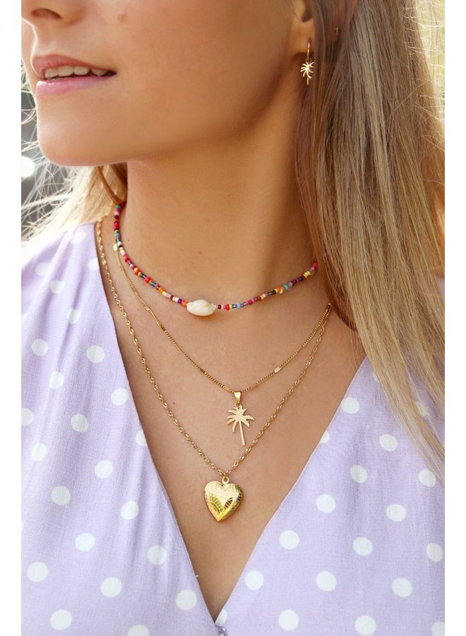 Ketting hart amour