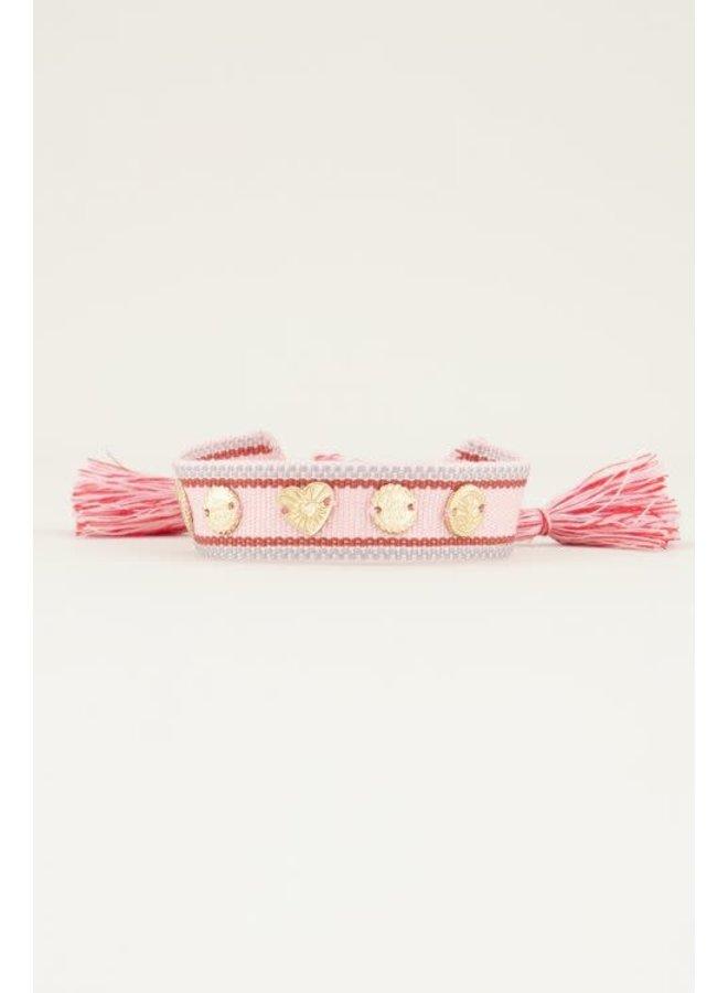 Bohemian armband met bedeltjes