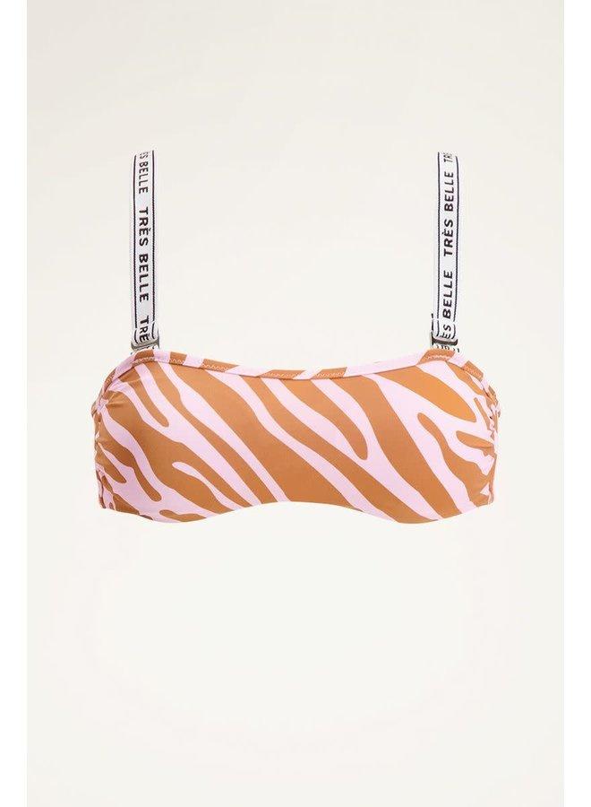 Bikini top zebraprint