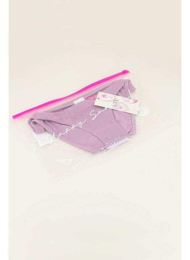 Lila bikini broekje