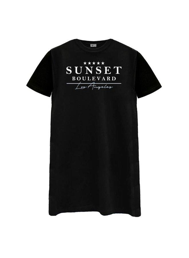 Sunset Boulevard T-shirt dress