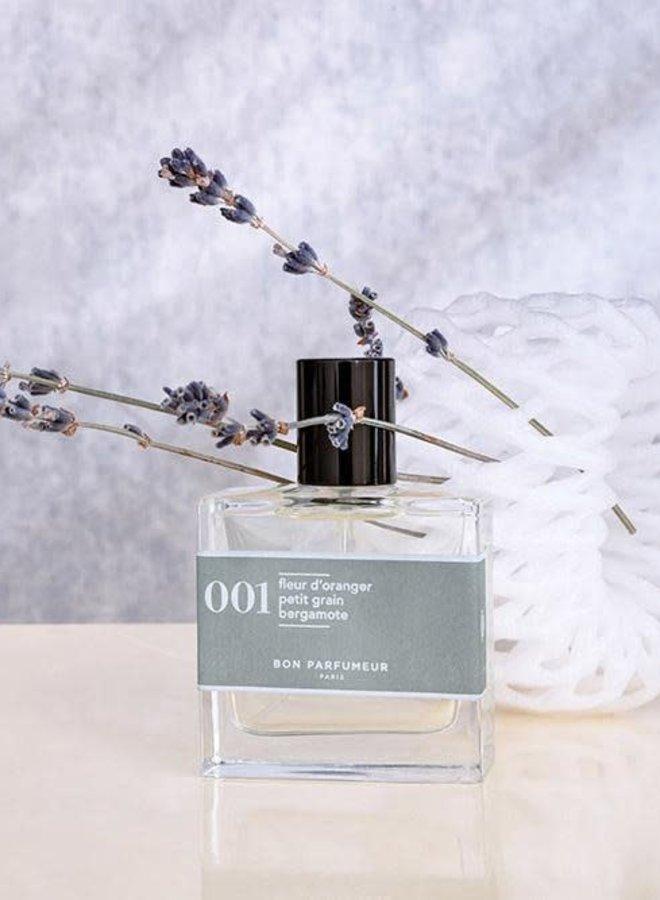 001 orange blossom / petitgrain / bergamot