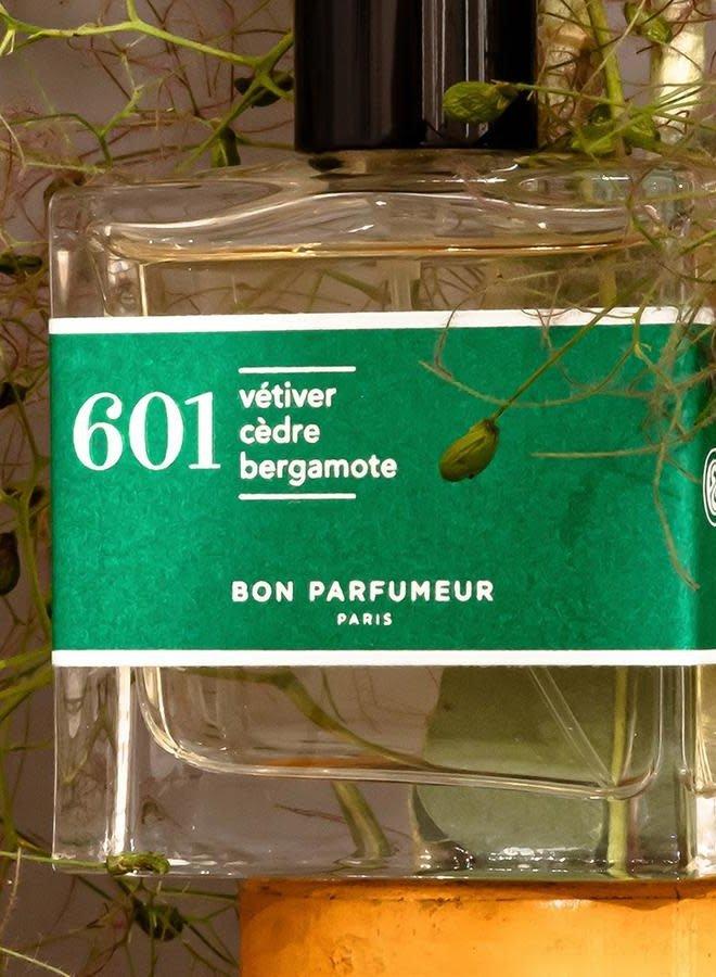 601 : vetiver / cedar / bergamot