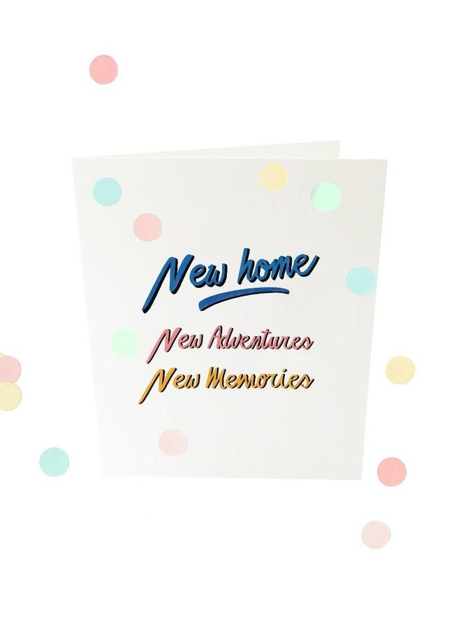 Confetti Cards - New home V2