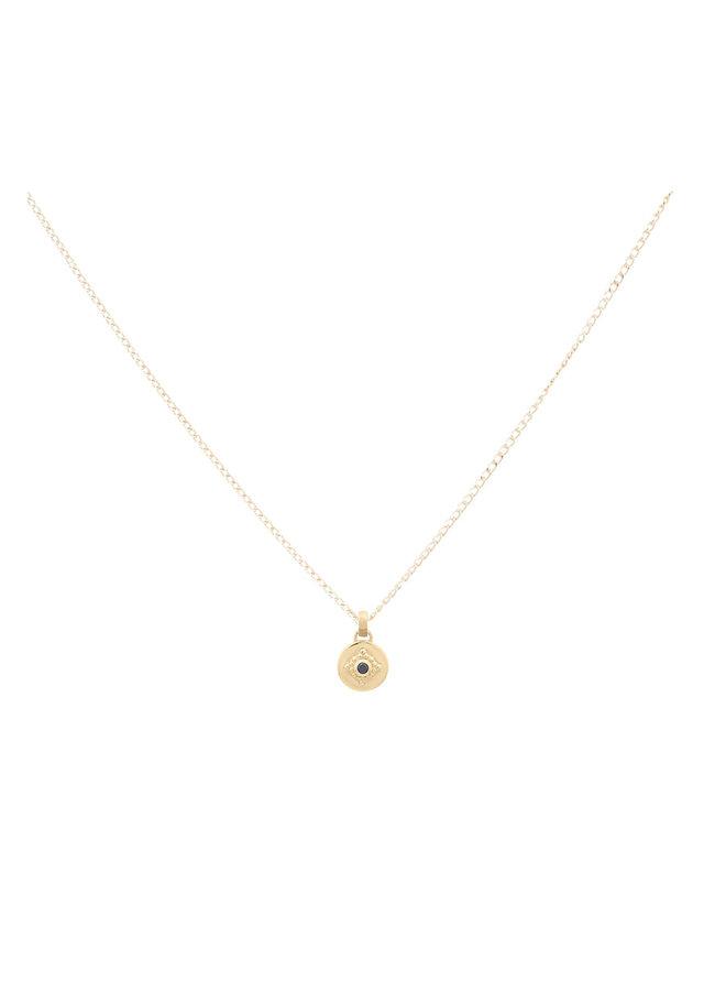 Ketting goud – charm - 45,7cm Carpe Diem